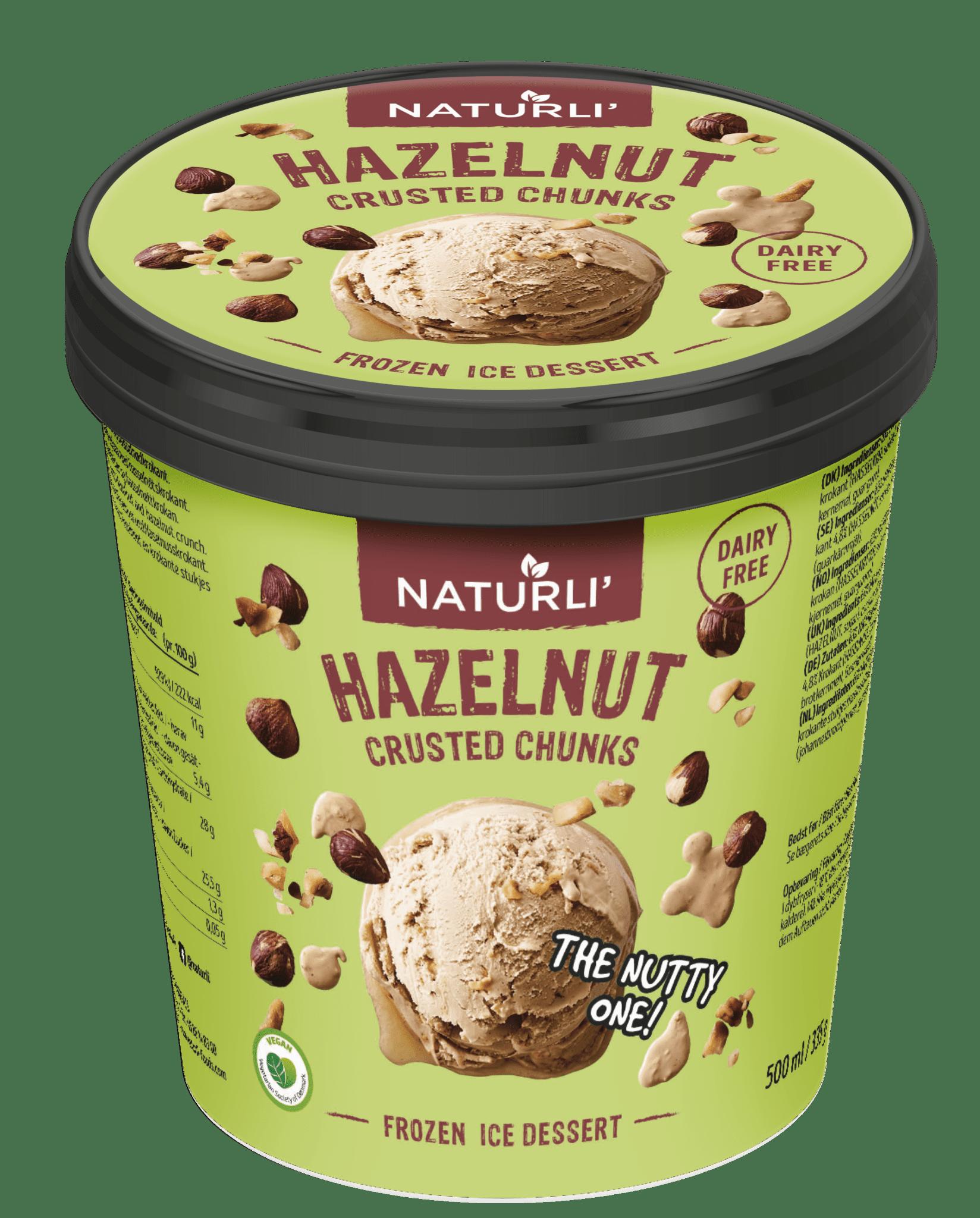 Hazelnut Crusted Chunks
