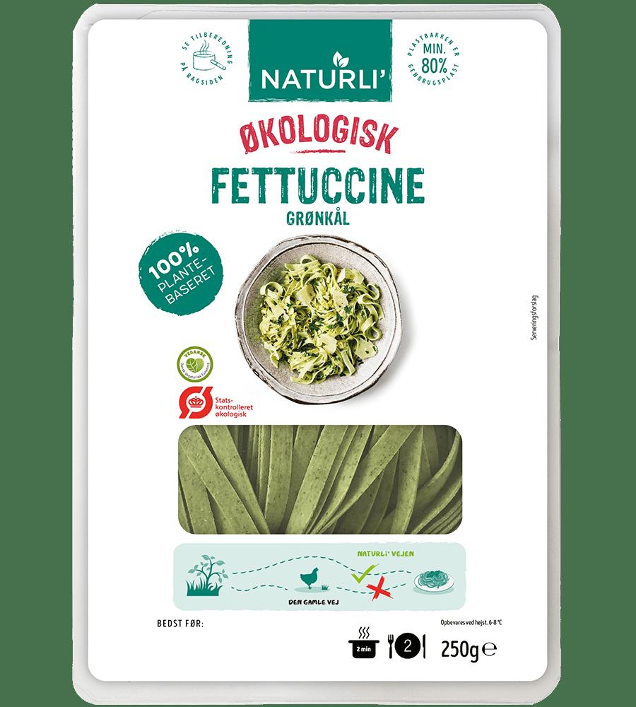 Fettuccine Grønkål