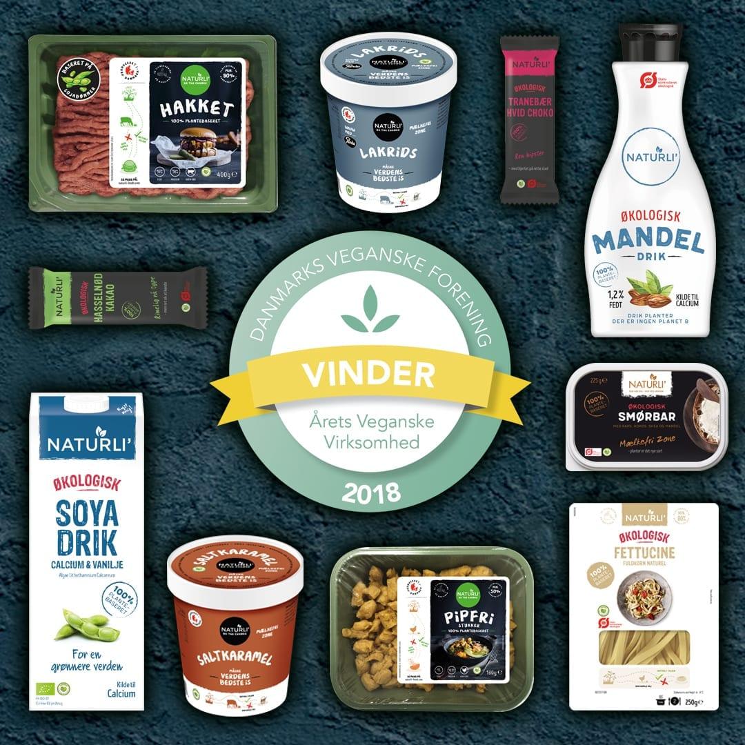 Naturli Foods | Årets Veganske Virksomhed | Mad med medfølelse