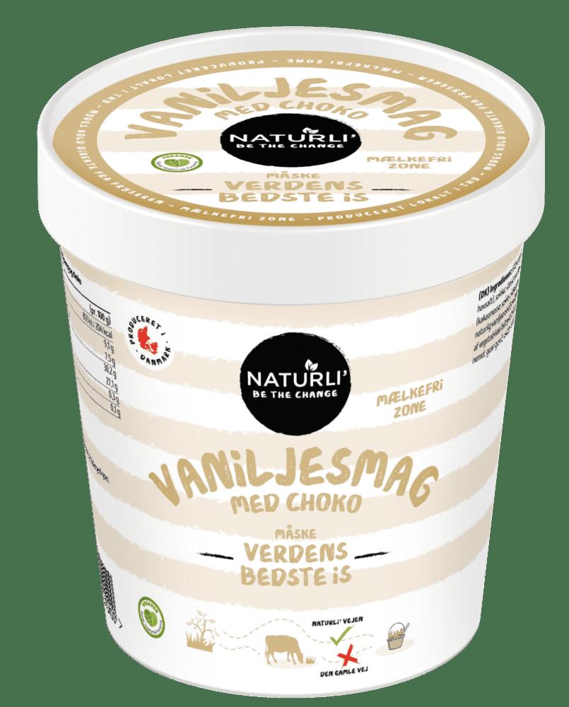 Vanilje med choko – på risdrik