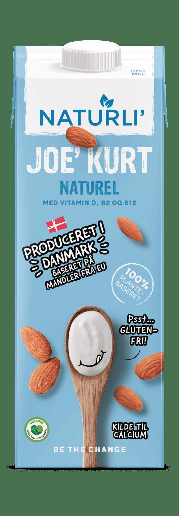 JOE' KURT naturel | vegansk yoghurt alternativ